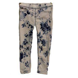 Jordache Girl Jeggings Tie Dye Wash Crop Leggings